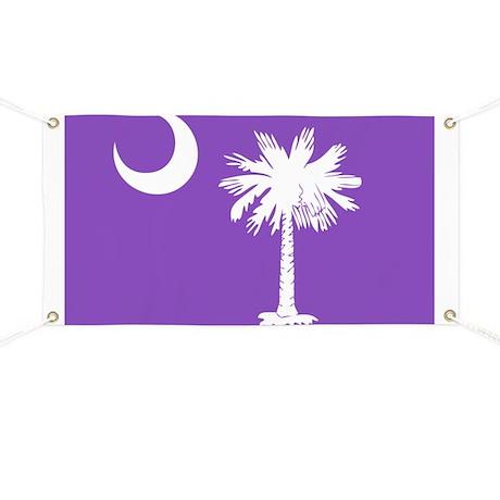 SC Palmetto Moon Banner