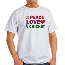 Peace Love Cricket Designs T-Shirt