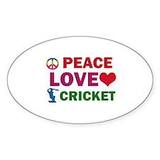 Peace Love Cricket Designs Decal
