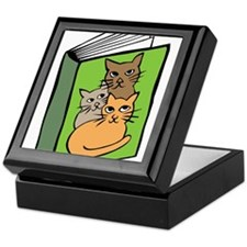 Book of Cats Keepsake Box