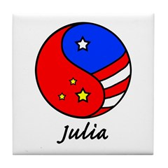 Julia Tile Coaster