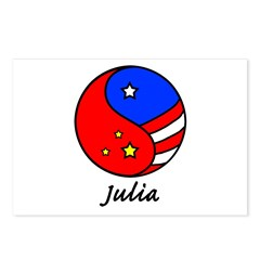 Julia Postcards (Package of 8)