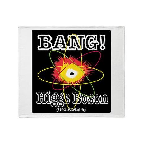 HIGGS BOSON Throw Blanket