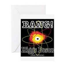 HIGGS BOSON Greeting Card