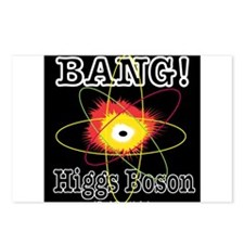 HIGGS BOSON Postcards (Package of 8)