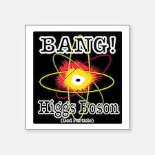 """HIGGS BOSON Square Sticker 3"""" x 3"""""""