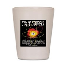 HIGGS BOSON Shot Glass