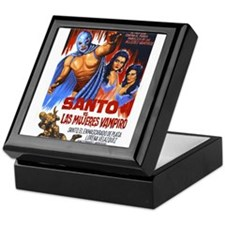 Santo vs. Vampire Keepsake Box