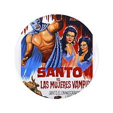 "Santo vs. Vampire 3.5"" Button"