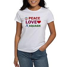 Peace Love Squash Designs Tee