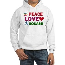 Peace Love Squash Designs Hoodie
