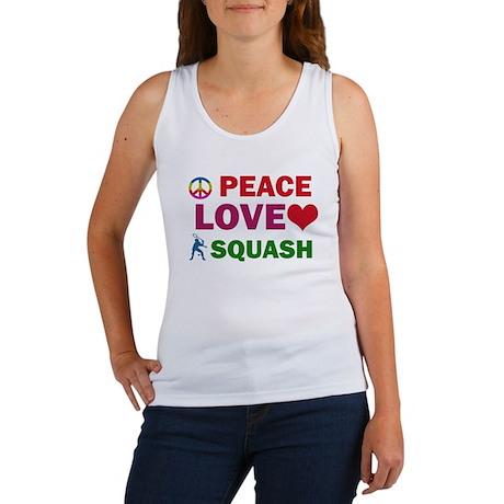 Peace Love Squash Designs Women's Tank Top