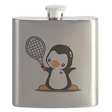 I Like Tennis Flask