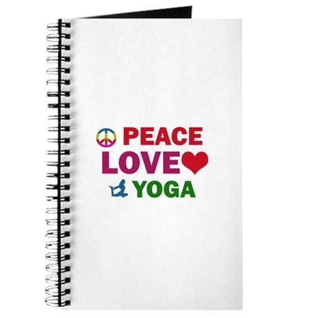 Peace Love Yoga Designs Journal