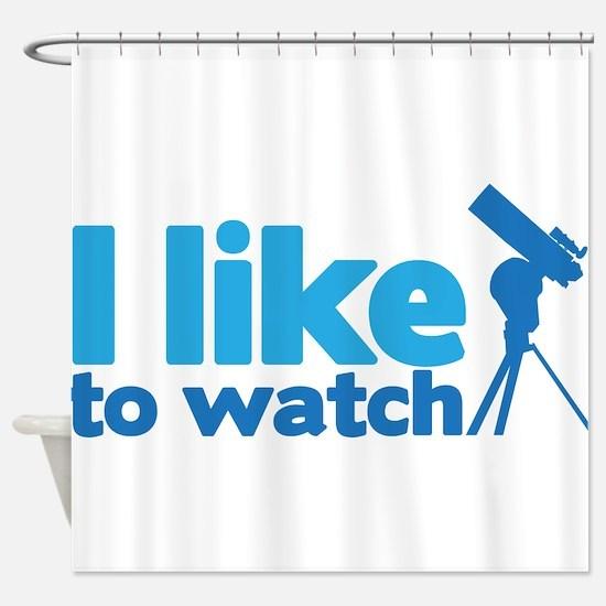 Watch Sky Shower Curtain
