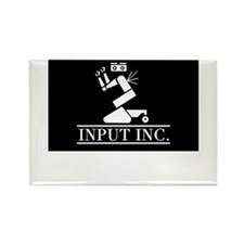 Input Inc Rectangle Magnet