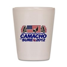 CAMACHO / NOT SURE - CAMPAIGN 2012 Shot Glass