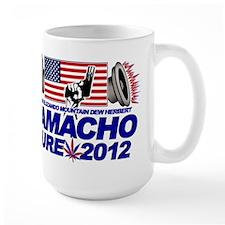 CAMACHO / NOT SURE - CAMPAIGN 2012 Large Mug