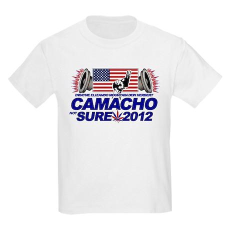 CAMACHO / NOT SURE - CAMPAIGN 2012 Kids Light T-Sh