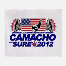 CAMACHO / NOT SURE - CAMPAIGN 2012 Throw Blanket