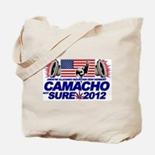 CAMACHO / NOT SURE - CAMPAIGN 2012 Tote Bag