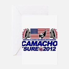 CAMACHO / NOT SURE - CAMPAIGN 2012 Greeting Card