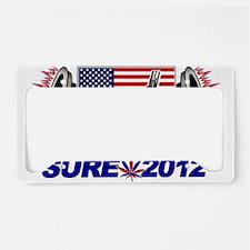 CAMACHO / NOT SURE - CAMPAIGN 2012 License Plate H