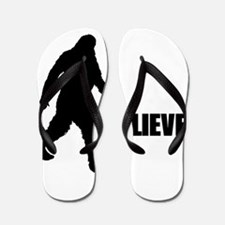 BELIEVE IN BIGFOOT Flip Flops