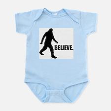 BELIEVE IN BIGFOOT Infant Bodysuit
