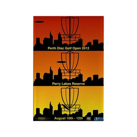 Perth Open 2012 Rectangle Magnet (100 pack)