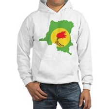 Zaire Flag and Map Hoodie