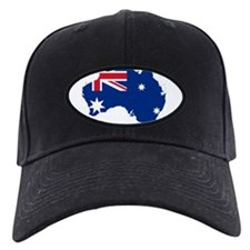 Australia Flag and Map Baseball Hat
