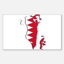 Bahrain Flag and Map Decal