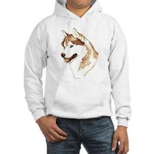 Siberian Husky Portrait Jumper Hoody