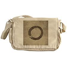 Vintage Enso Symbol Messenger Bag