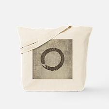 Vintage Enso Symbol Tote Bag