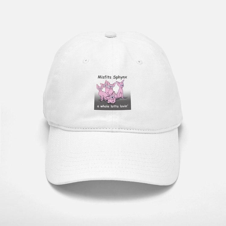 Misfit Sphynx Baseball Baseball Cap