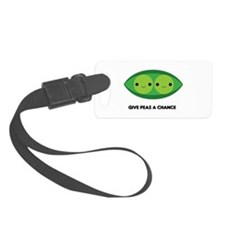Give Peas a Chance Luggage Tag