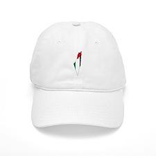 Palestine Flag and Map Baseball Cap