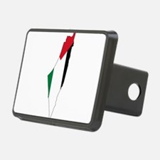 Palestine Flag and Map Hitch Cover