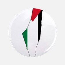 "Palestine Flag and Map 3.5"" Button"