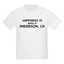Anderson - Happiness Kids T-Shirt
