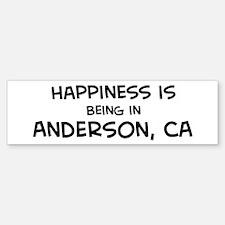 Anderson - Happiness Bumper Bumper Bumper Sticker