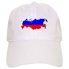 Russia Flag and Map Cap