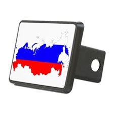 Russia Flag and Map Hitch Cover