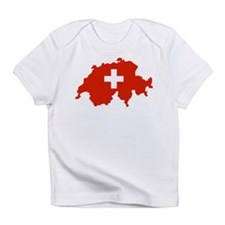 Switzerland Flag and Map Infant T-Shirt