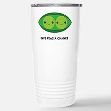 Give Peas a Chance Travel Mug
