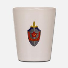 KGB Emblem Shot Glass