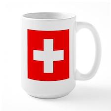 Swiss flag Mug