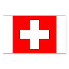 Swiss flag Decal
